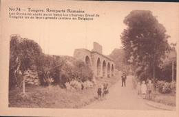 Tongeren Tongres Remparts Romains Erekaart Carte D'honneur (7 X 12 Cm !!!) Edit U.C. Liège - Tongeren