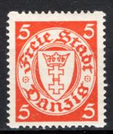 Danzica 1924 Unif.177r **/MNH VF - Dantzig