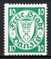 Danzica 1935 Unif.206Br **/MNH VF - Dantzig