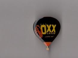 Pin's Montgolfière - Bière / Gold Ochsen - OXX (probier' Mal! - époxy) Hauteur: 3,1 Cm - Bière