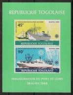 Togo - 1968 - Bloc Feuillet BF N°Yv. 30 - Port De Lomé - Neuf Luxe ** / MNH / Postfrisch - Togo (1960-...)