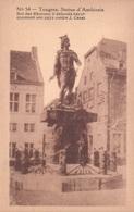 Tongeren Tongres Statue D'Ambiorix Erekaart Carte D'honneur (7 X 12 Cm !!!) Edit U.C. Liège - Tongeren