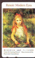 Télécarte JAPON * PEINTURE FRANCE (2082) AUGUSTE RENOIR *  MUSEUM * ART * TK Gemälde  Phonecard Japan * KUNST - Painting
