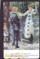 Télécarte JAPON * PEINTURE FRANCE (2083) AUGUSTE RENOIR *  MUSEUM * ART * TK Gemälde  Phonecard Japan * KUNST - Painting
