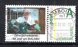Luxemburg Mengpost Waarde A Personal Stamp With  Schwesteren Zitha: 50 Joer Am Malawi - Luxemburg