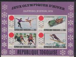Togo - 1971 - Bloc Feuillet BF N°Yv. 56 - Sapporo 72 / Olympics - Neuf Luxe ** / MNH / Postfrisch - Togo (1960-...)