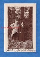 Photo Ancienne - PETITE SYNTHE - Portrait D'un Poilu & Jeune Femme - 11 Mai 1915 - Emile & Angèle GRAND - Guerre, Militaire
