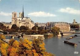 Paris Péniches Péniche - The River Seine And Its Banks