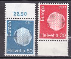 N° 855 à 856 Timbres Europa: Belle  Série En Timbres Neuf Impeccable Sans Charnière - Neufs