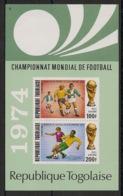 Togo - 1974 - Bloc Feuillet BF N°Yv. 74 - Football World Cup Deutschland - Neuf Luxe ** / MNH / Postfrisch - Coppa Del Mondo