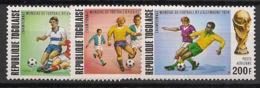 Togo - 1974 - Poste Aérienne PA N°Yv. 216 à 218 - Football World Cup Deutschland 74 - Neuf Luxe ** / MNH / Postfrisch - Togo (1960-...)