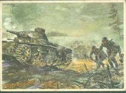 WW2 Wehrmachts Postkarten Infanterie Panzerkampfwagen  Armée Allemande Militaria - Weltkrieg 1939-45