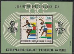 Togo - 1974 - N°Mi. Bloc 90 - Football World Cup Deutschland 74 - Neuf Luxe ** / MNH / Postfrisch - Coppa Del Mondo