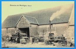 BATTEUSE à SITUER - DOMAINE De MACHIGNY - OUEST-  BELLE ANIMATION VERS 1910 - France