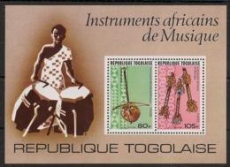 Togo - 1977 - Bloc Feuillet BF N°Yv. 101 - Instruments De Musique - Neuf Luxe ** / MNH / Postfrisch - Togo (1960-...)