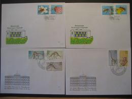 "Deutschland/ DDR- FDC Beleg ""Die Biene"" ANK 3295-3298, FDC Beleg 100 Jahre Museum Berlin ANK 3324-3328 - [6] Democratic Republic"