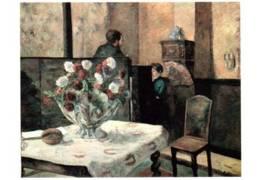 CPM - PAUL GAUGUIN - Intérieur Du Peintre Rue Carcel   ... - Peintures & Tableaux