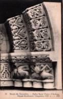 CPA - Musée TROCADERO - Eglise St Pierre D'AULNAY - Façade Chapiteau ... - Sculptures