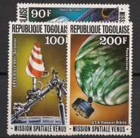 Togo - 1978 - Poste Aérienne PA N°Yv. 345 à 347 - Espace / Vénus - Neuf Luxe ** / MNH / Postfrisch - Afrika