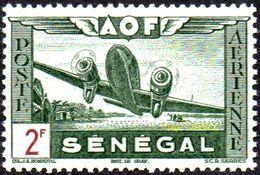 Sénégal N° PA 24 **  Avion Au Décollage - Douglas DC 3 Dakota - Sénégal (1887-1944)