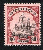 Allemagne, Colonie Allemande, Togo, N°15 Oblitéré, Qualité Très Beau - Colonie: Togo