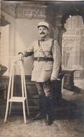 Militaire Avec N° 1 Sur Le Col Photographie PIERRON à TARASCON (B Du R) - Uniformi
