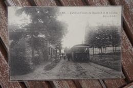 CPA - Kain - L'arrêt Du Vicinal à La Chapelle N-D De La Tombe - Tramway - Tram - Tournai