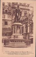 Aalst Alost Statue De Thierry Martens Erekaart Carte D'honneur (7 X 12 Cm !!!) Edit U.C. Liège - Aalst