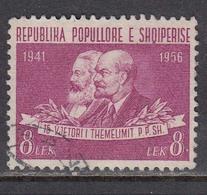 Albania 1957 - 15e Ann. Du Parti Du Travail Albanais, Mi-Nr. 545, Used - Albania