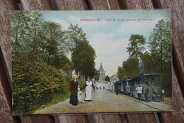 CPA - Bonsecours ( Bon-Secours ) - Route De Condé - Arrivée Du Tramway - Tram - Tramway - Péruwelz