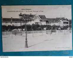 CPA - ANDERNOS-LES-BAINS - La Grande Place De La Plage - Andernos-les-Bains