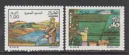 1988 Algeria Algerie Agriculture Complete Set Of 2 MNH - Algerien (1962-...)