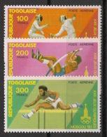 Togo - 1980 - Poste Aérienne PA N°Yv. 415 à 417 - Moscou /Olympics - Neuf Luxe ** / MNH / Postfrisch - Verano 1980: Moscu
