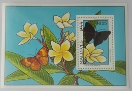 Maldives 1993** Bl.296. Butterflies MNH [10;139] - Schmetterlinge