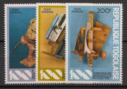 Togo - 1981 - Poste Aérienne PA N°Yv. 445 à 447 - Art / Picasso - Neuf Luxe ** / MNH / Postfrisch - Picasso