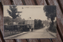 CPA - Le Roeulx - Chalet Du Tram Roeulx-Casteau - Tram - Tramway - Le Roeulx