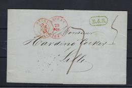 VOORLOPER 1843 NAAR Lille - 1830-1849 (Belgique Indépendante)