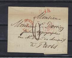 VOORLOPER 1847 VERZONDEN NAAR Paris - 1830-1849 (Belgique Indépendante)