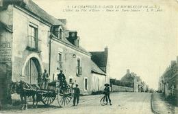 49 La Chapelle-Saint-Laud Bel Attelage Sur La Nationale 23 Au Bourgneuf - Autres Communes