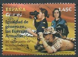 ESPAGNE SPANIEN SPAIN ESPAÑA 2018 EQUALITY OF PEOPLE IN THE ARMED FORCES IGUALDAD DE GÉNERO USED ED 5262 MI 5302 YT 5007 - 1931-Today: 2nd Rep - ... Juan Carlos I