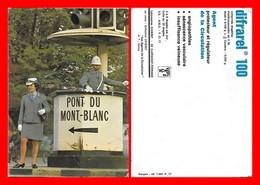 CPSM/gf  POLICE.  Les Agents De La Circulation En Suisse. Pub DIFRAREL 100...I365 - Polizia – Gendarmeria