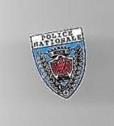 PINS POLICE NATIONALE NICE 06  Argenté  / 33NAT - Police