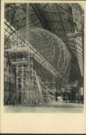 """1934, Ansichtskarte """"LZ 129 Im Bau"""", Gelaufen Ab FRIEDRICHSHAFEN - Zeppelins"""