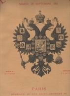L'ILLUSTRATION 28 09 1901 - FAMILLE IMPERIALE RUSSE DUNKERQUE COMPIEGNE REIMS TSAR NICOLAS II - REVUE BETHENY - L'Illustration