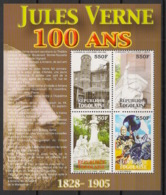 Togo - 2006 - N°Yv. 1964 à 1967 - Jules Verne - Neuf Luxe ** / MNH / Postfrisch - Ecrivains