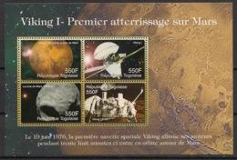 Togo - 2006 - N°Yv. 2005 à 2008 - Viking / Mars - Neuf Luxe ** / MNH / Postfrisch - Afrika