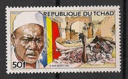 Tchad - 1984 - N°Yv. 436 - Hissein Habré - Neuf Luxe ** / MNH / Postfrisch - Tchad (1960-...)
