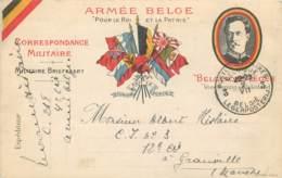 Armée Belge - Carte Correspondance Militaire - Militaria