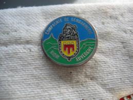 Pin's De La Compagnie De Gendarmerie De La Ville De RIOM En Auvergne - Police