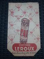 Sac Publicitaire En Papier: Chicorée Leroux, Neuf - Reklame